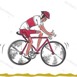 Guy on Bicycle